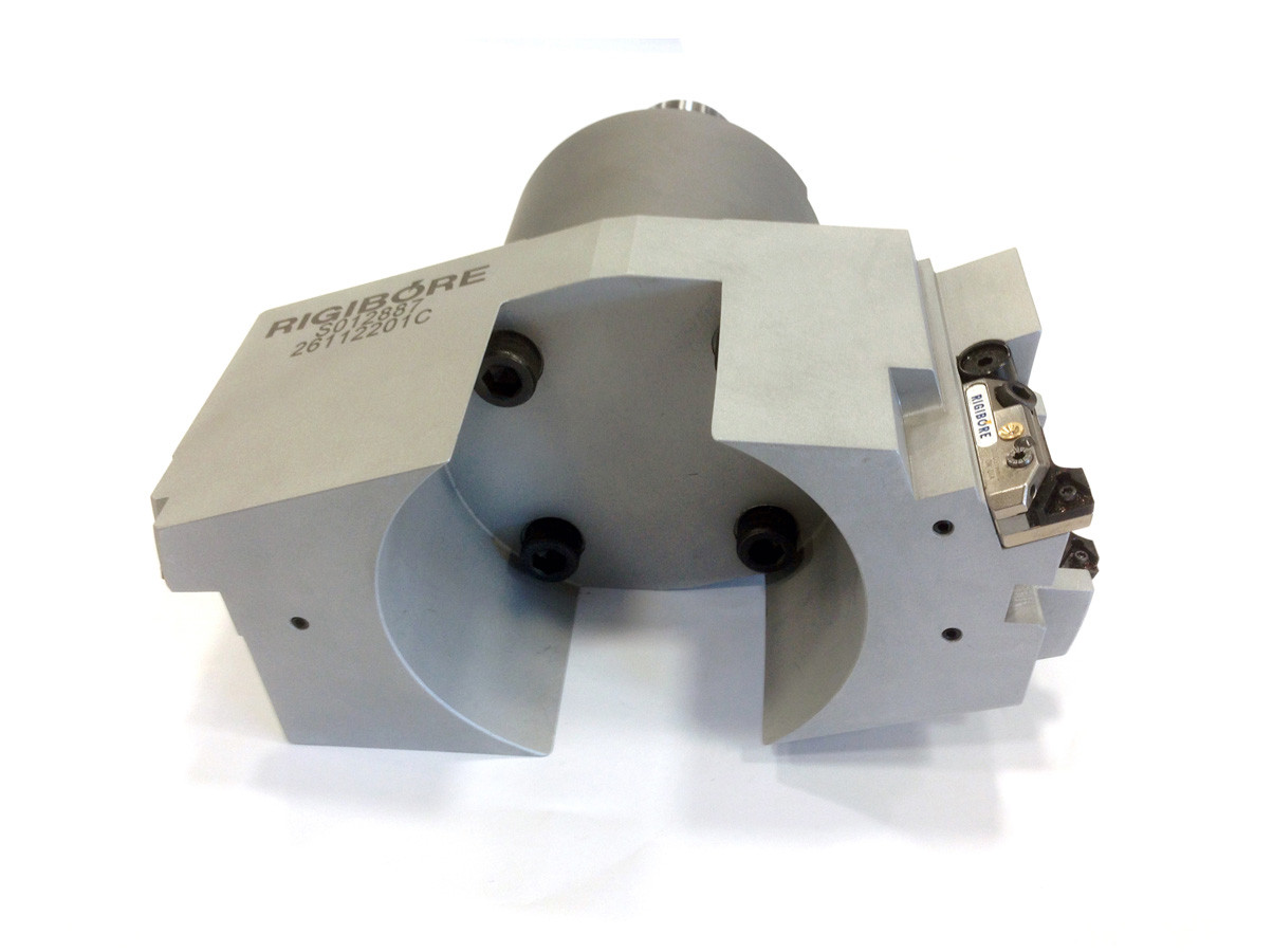 HSK63A special combination tool - Rough and finishing bar used in the automotive industry